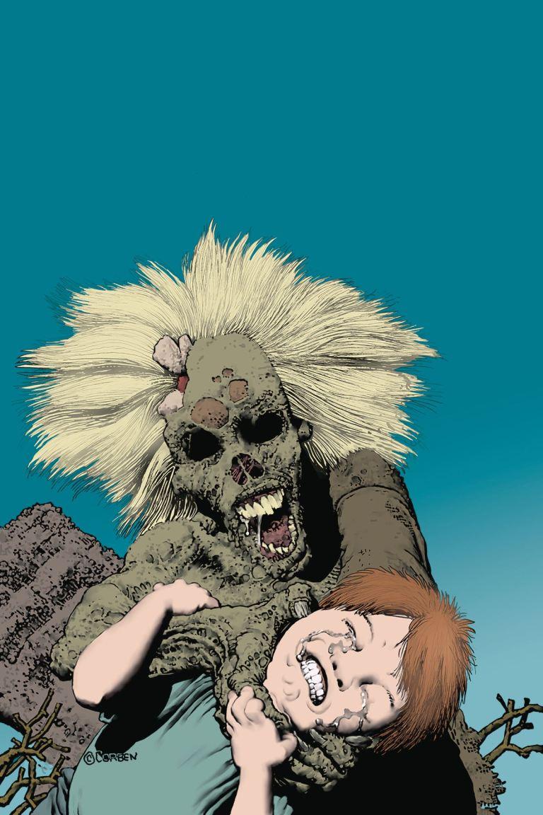 Shadows On The Grave #6 (Richard Corben Cover)
