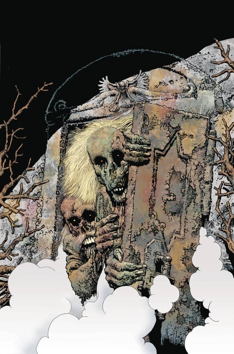 Shadows On The Grave #7 (Richard Corben Cover)
