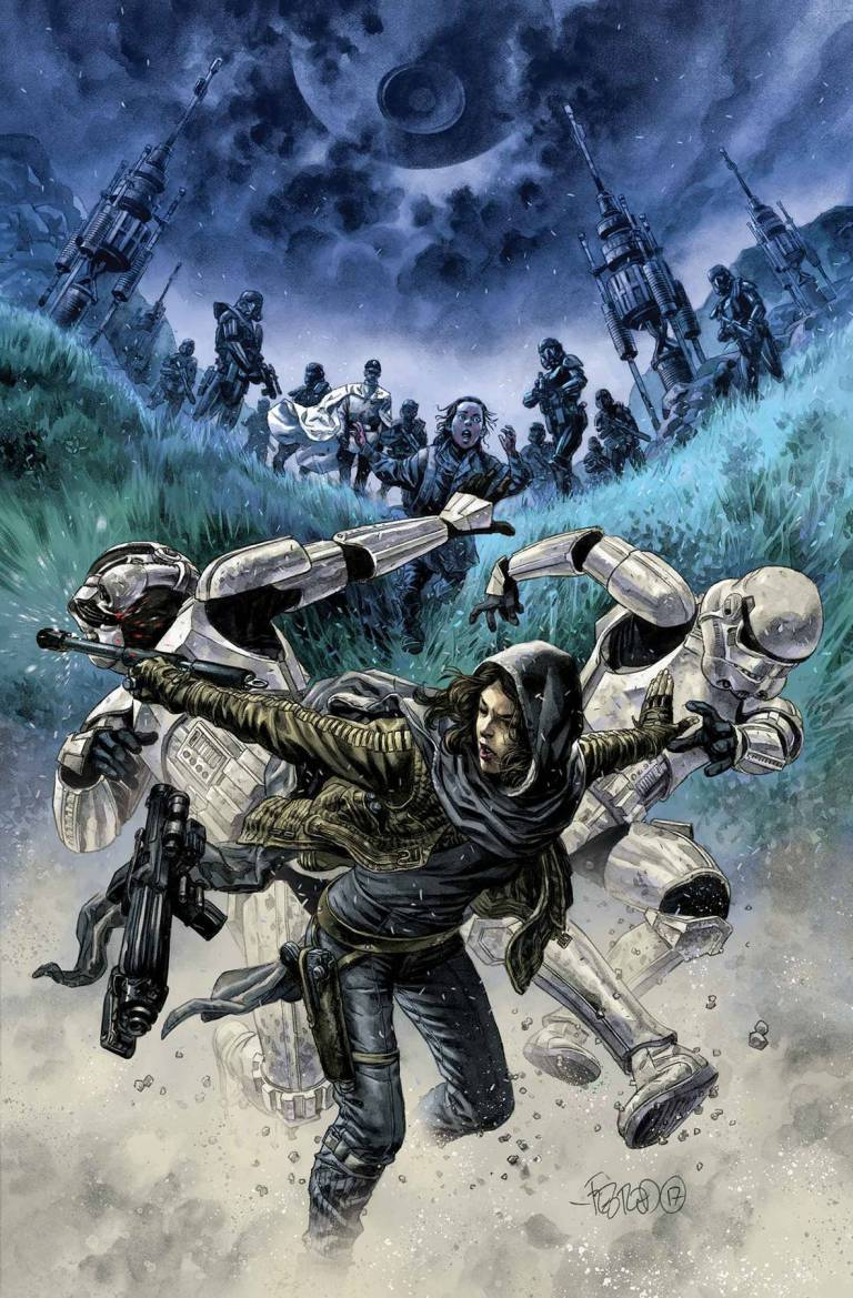 Star Wars Rogue One Adaptation #3 (Cover B Duncan Fegredo Concept Variant)