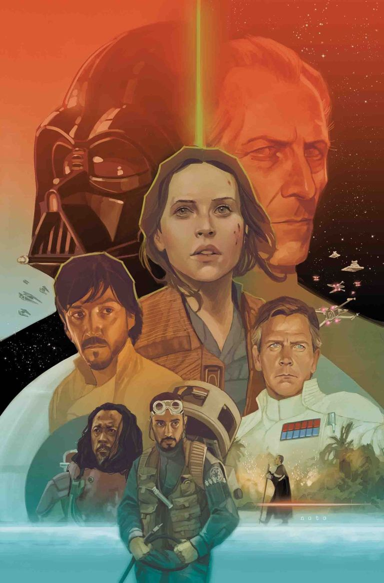 Star Wars Rogue One Adaptation #6 (Phil Noto Cover)