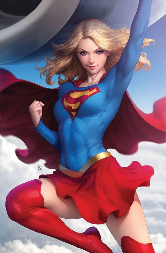 Supergirl #12 (Cover B Stanley Artgerm Lau)