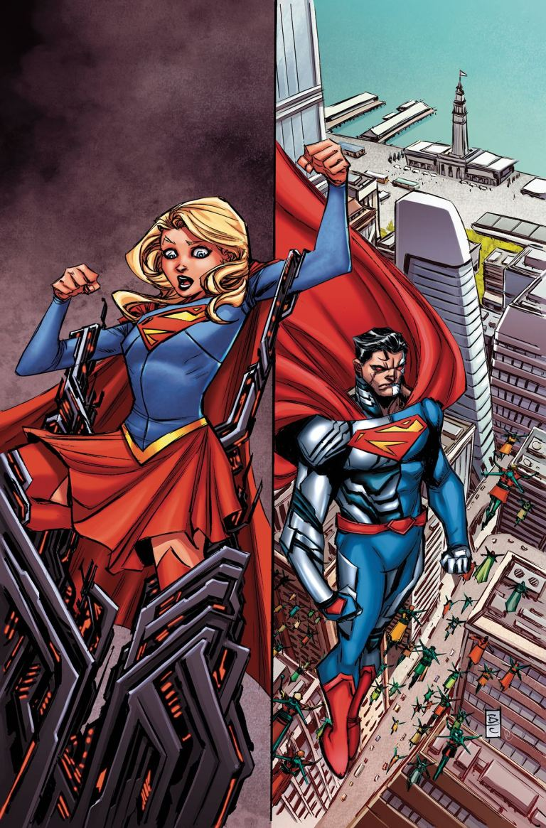 Supergirl #4 (Cover A Brian Ching)