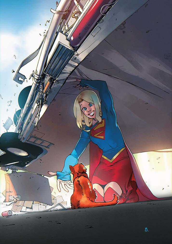 Supergirl #4 (Cover B Bengal)