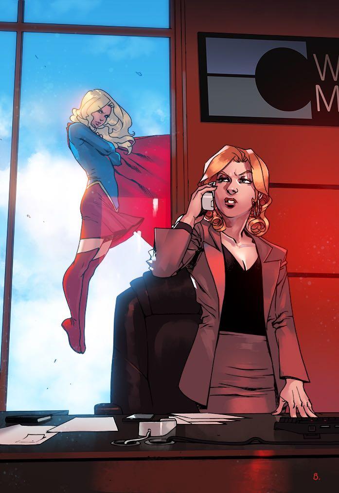 Supergirl #5 (Cover B Bengal)