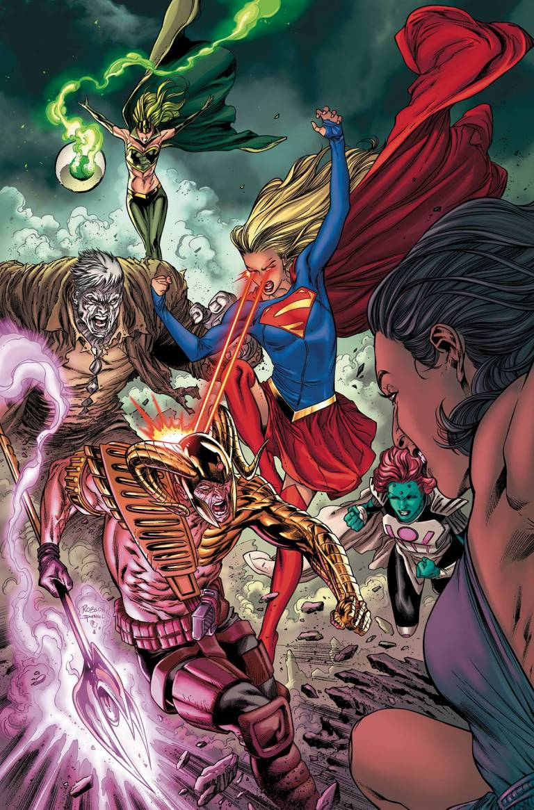 Supergirl Annual #1 (Daniel Henriques & Robson Rocha Cover)
