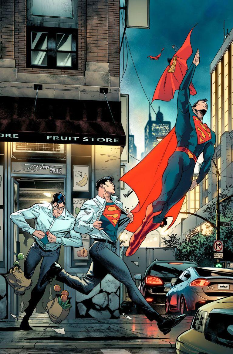 Superman #25 (Cover B Jorge Jimenez)