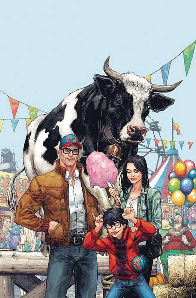 Superman #7 (Cover B Kenneth Rocafort)