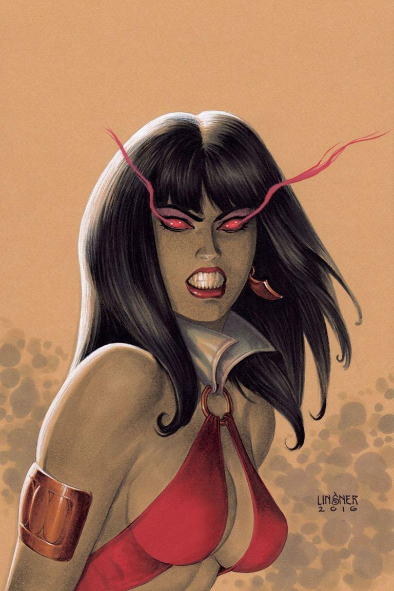 Vampirella #1 (Cover I Joseph Michael Linsner Virgin Variant)