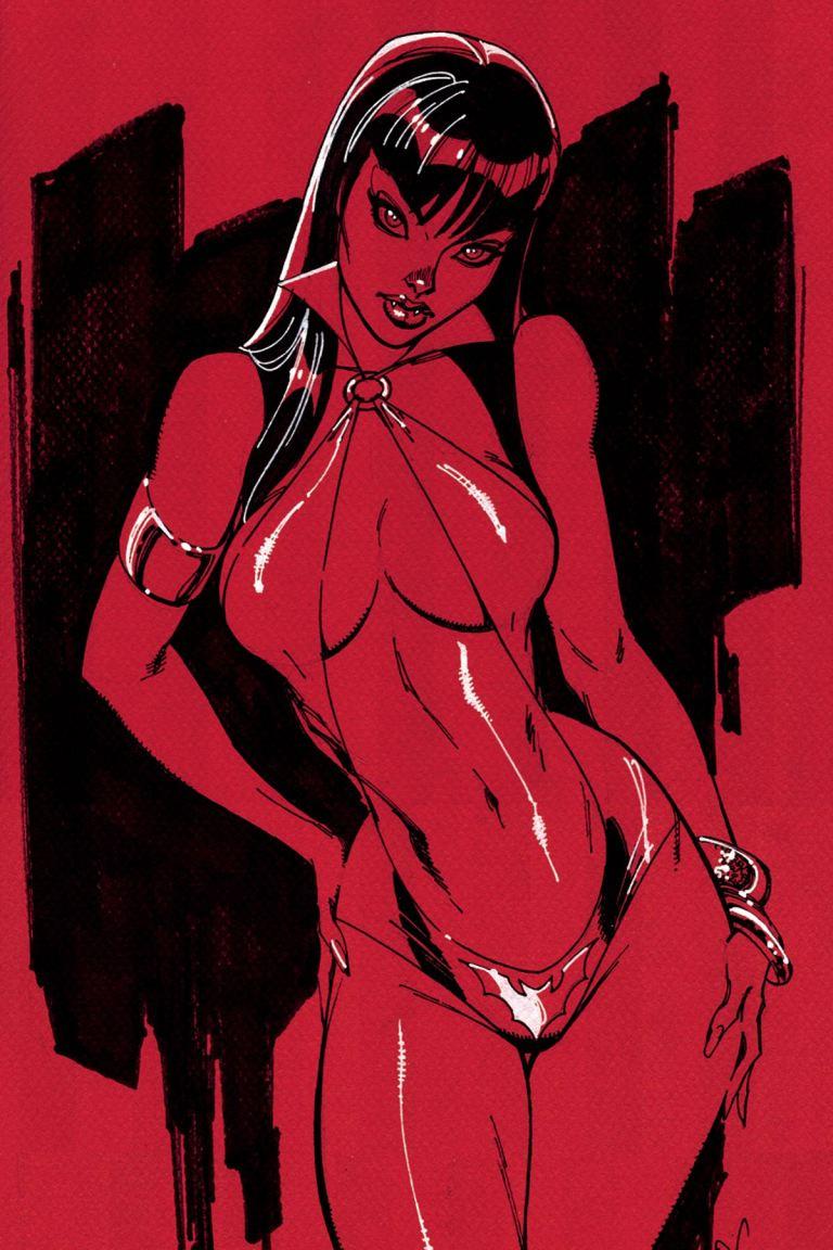 Vampirella #1 (Cover J J. Scott Campbell Virgin Variant)