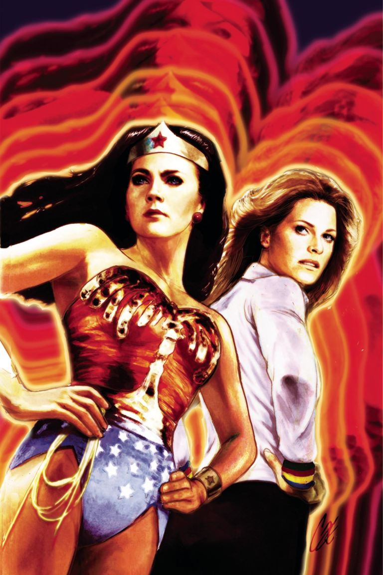 Wonder Woman '77 Meets The Bionic Woman #1 (Cover A Cat Staggs)