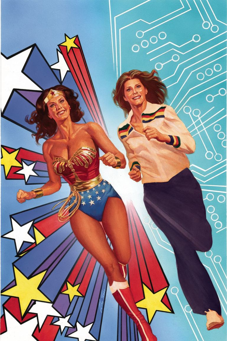 Wonder Woman '77 Meets The Bionic Woman #1 (Cover B Alex Ross)