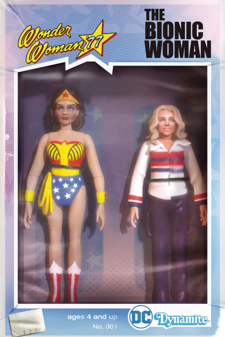 Wonder Woman '77 Meets The Bionic Woman #1 (Cover C Michael Adams Action Figure Variant)