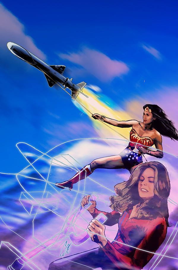 Wonder Woman '77 Meets The Bionic Woman #3 (Of 6)(Cover C Cat Staggs Virgin Variant)