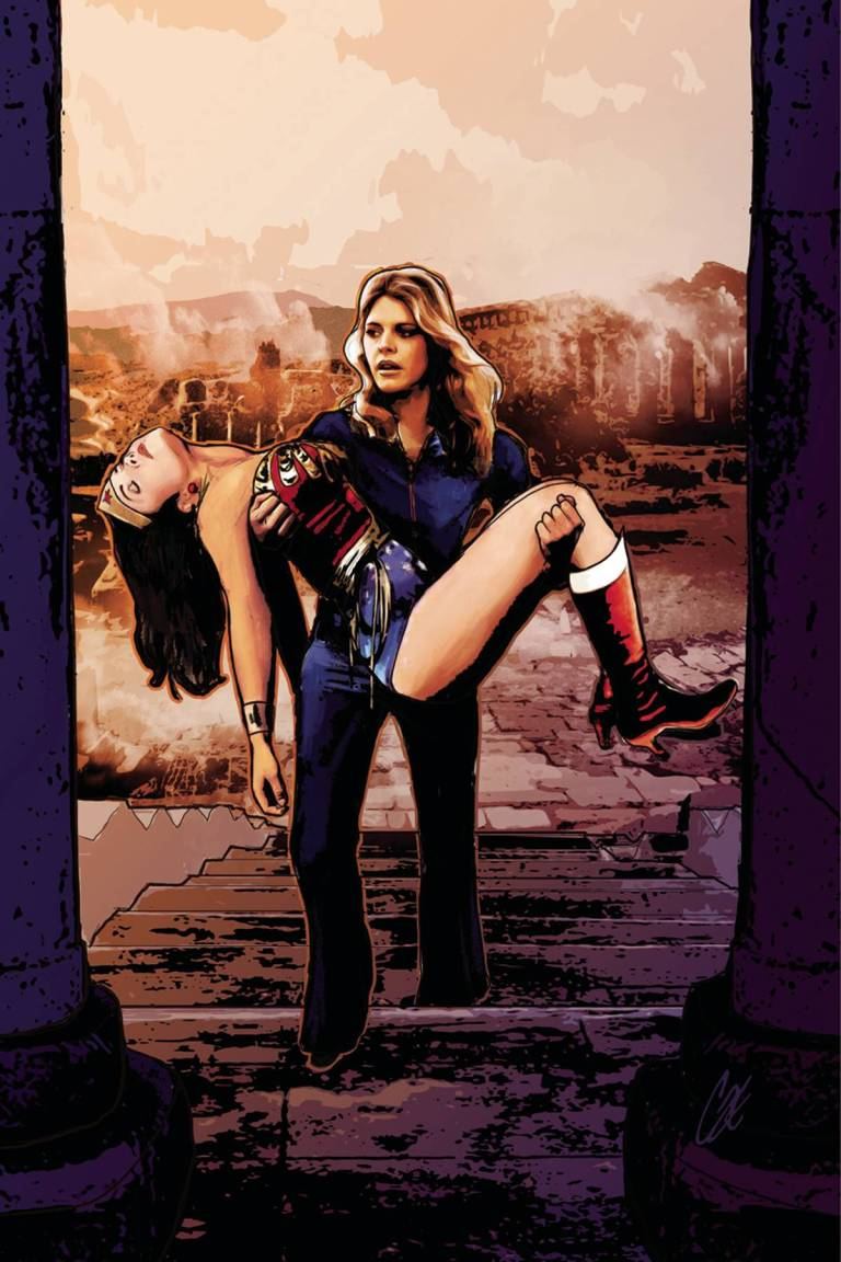 Wonder Woman '77 Meets The Bionic Woman #5 (Cover C Cat Staggs Virgin Variant)