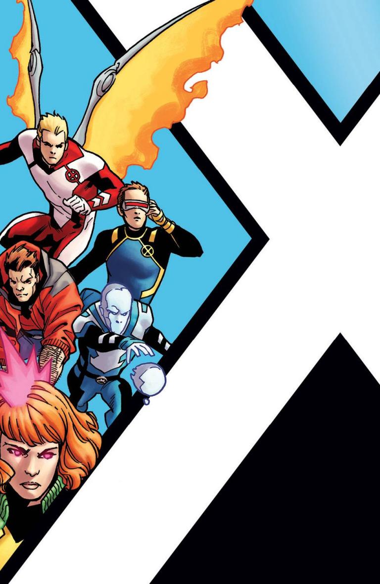 X-Men Blue #1 (Cover E Leonard Kirk Corner Box Variant)