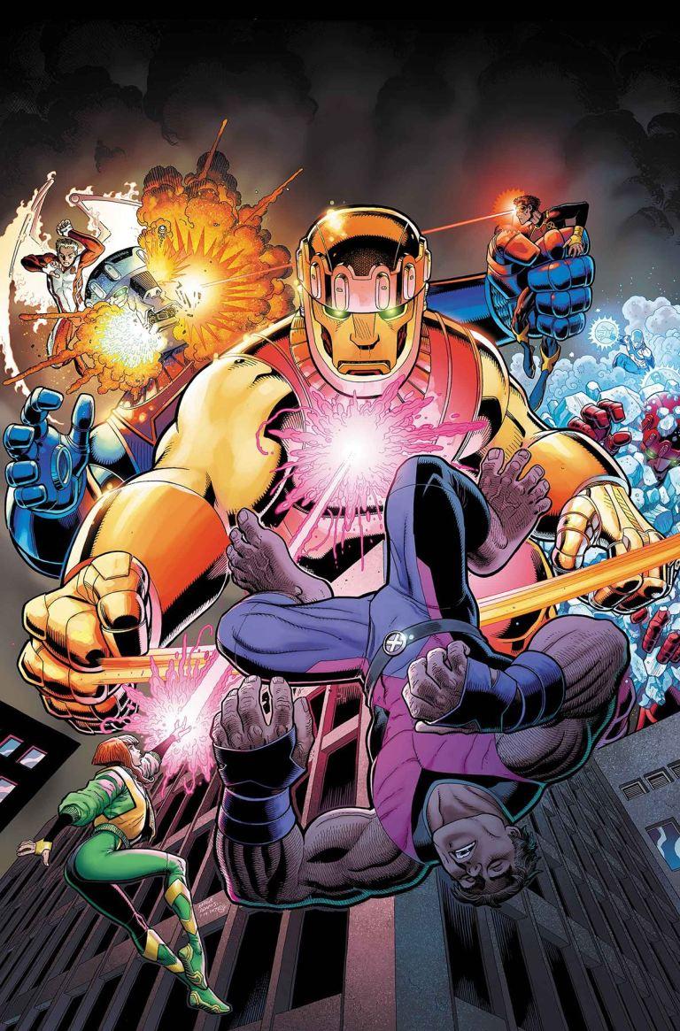 X-Men Blue #3 (Cover A Arthur Adams)