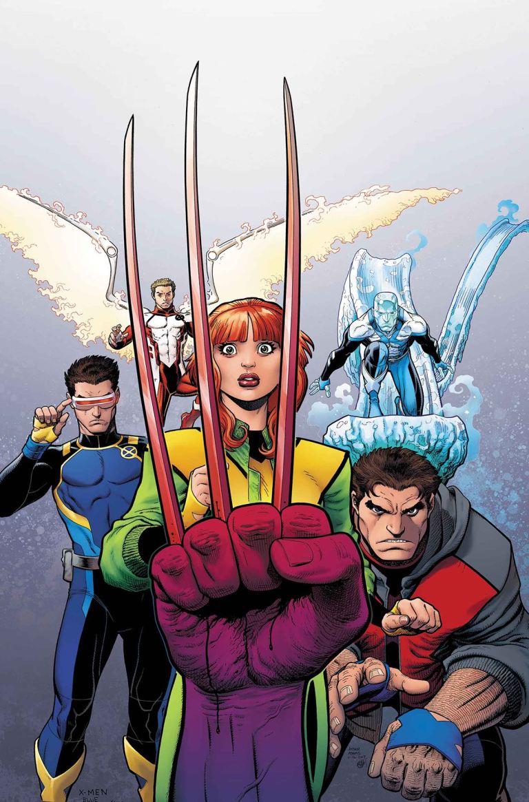 X-Men Blue #4 (Arthur Adams Cover)