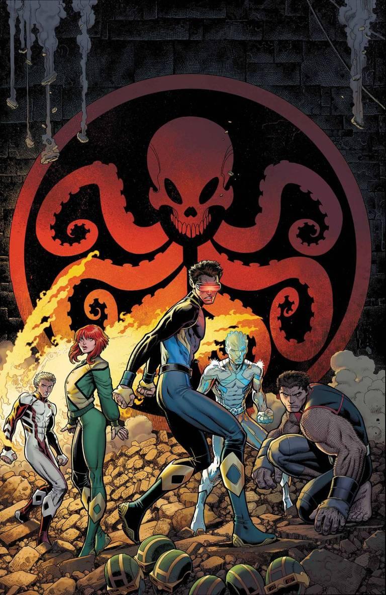 X-Men Blue #7 (Cover A Arthur Adams)