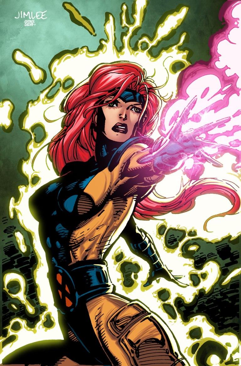 X-Men Blue #7 (Cover C Jim Lee X-Men Trading Card Variant)