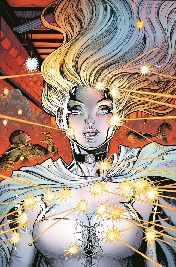 X-Men Blue #8 (Arthur Adams Cover)