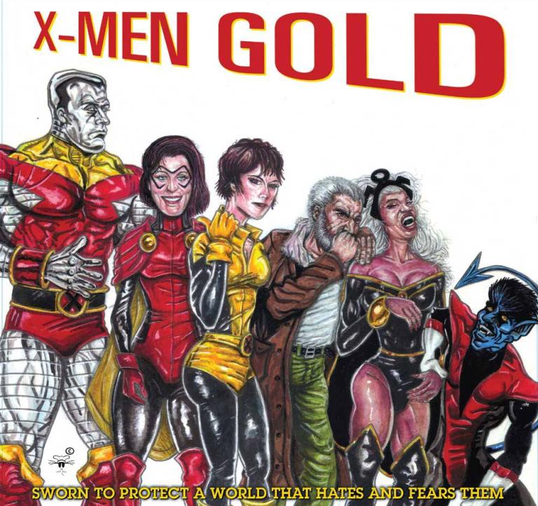 X-Men Gold #1 (Cover B Andre Leroy Davis Hip-Hop Variant)