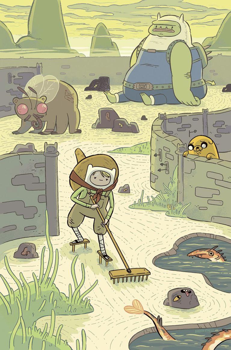 Adventure Time #60 (Cover A Shelli Paroline & Braden Lamb)