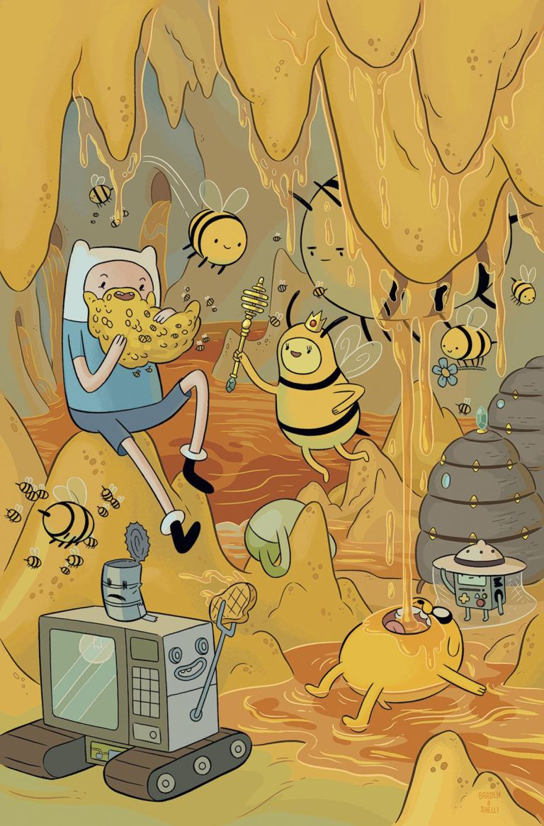 Adventure Time #62 (Cover A Shelli Paroline & Braden Lamb)