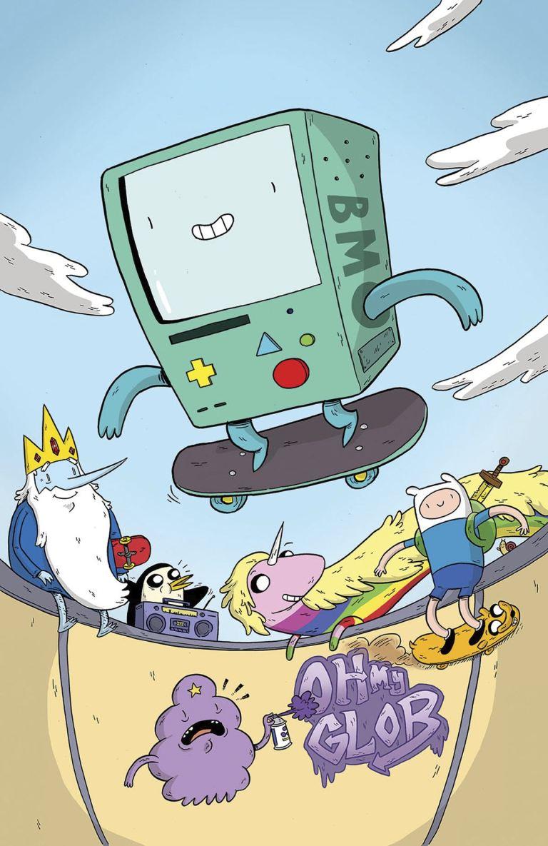 Adventure Time #63 (Cover B Pranas T. Naujokaitis)