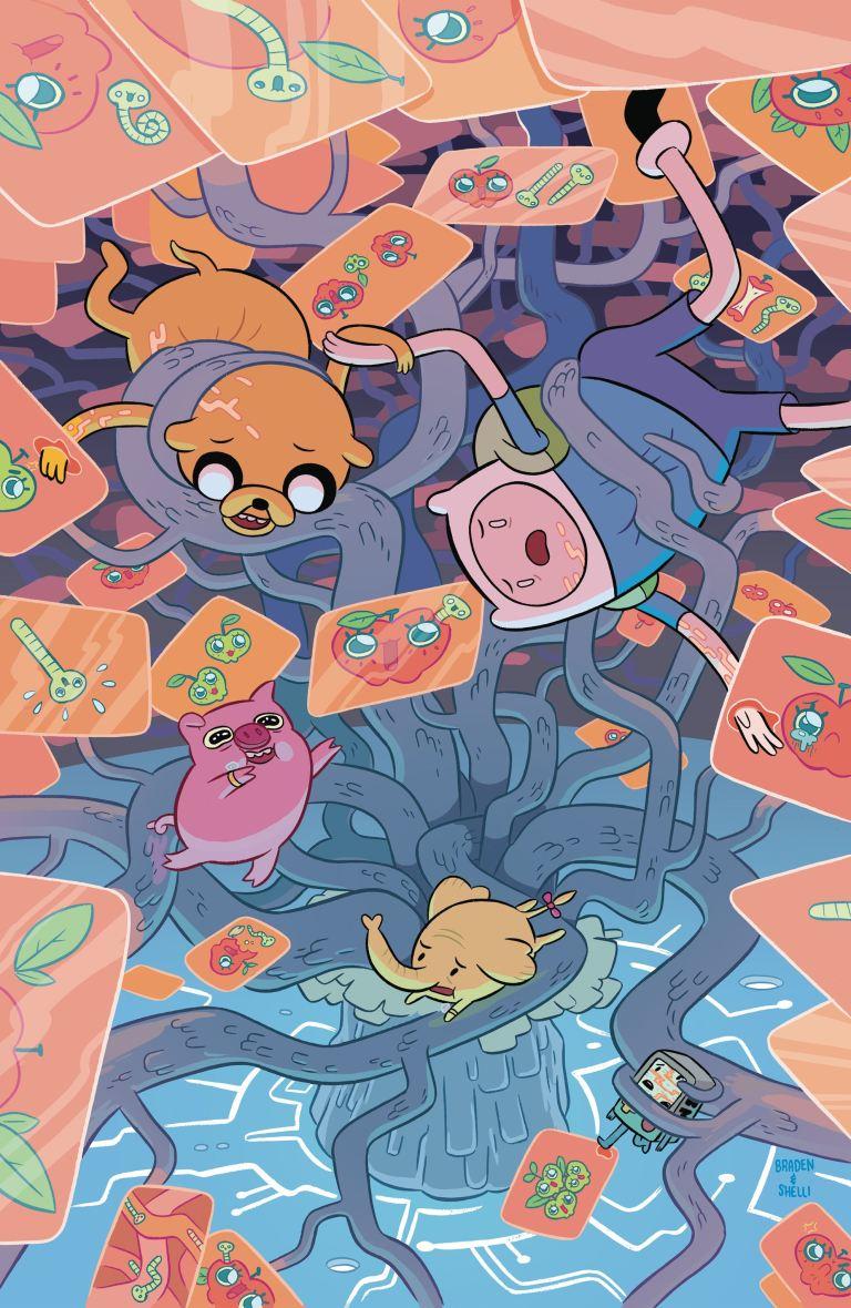 Adventure Time #65 (Cover A Shelli Paroline & Braden Lamb), $3.99