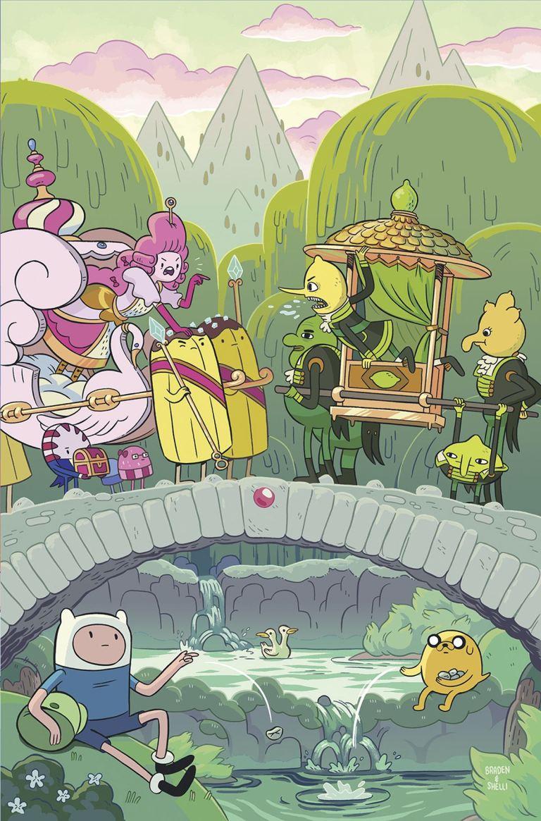 Adventure Time #66 (Cover A Shelli Paroline & Braden Lamb)