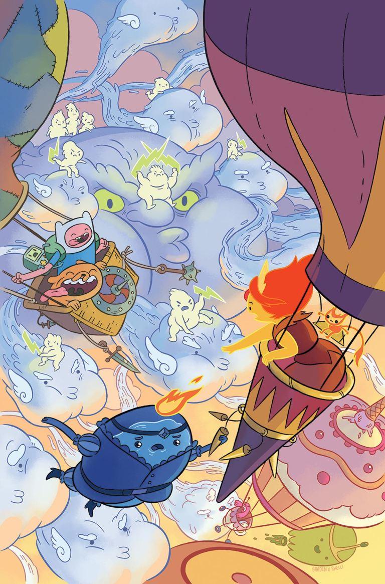 Adventure Time #68 (Cover A Shelli Paroline & Braden Lamb)