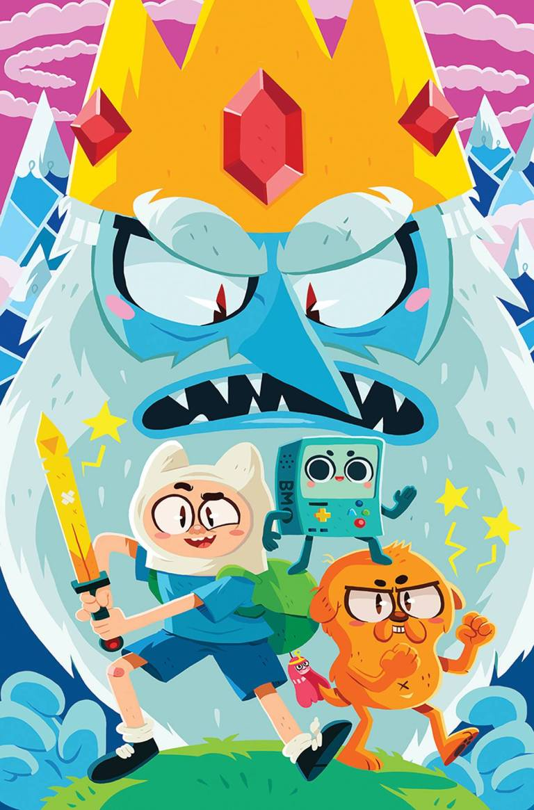 Adventure Time Comics #1 (Cover A Erin Hunting)