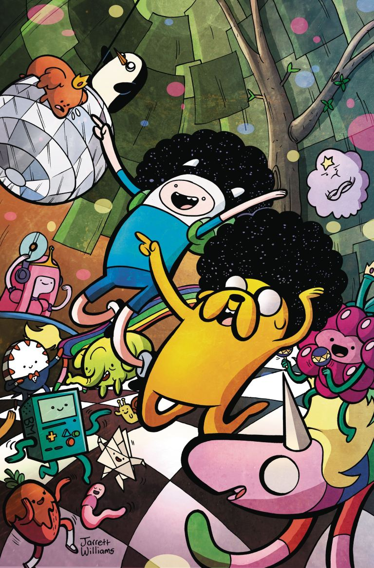 Adventure Time Comics #12 (Cover A Jarrett Williams)