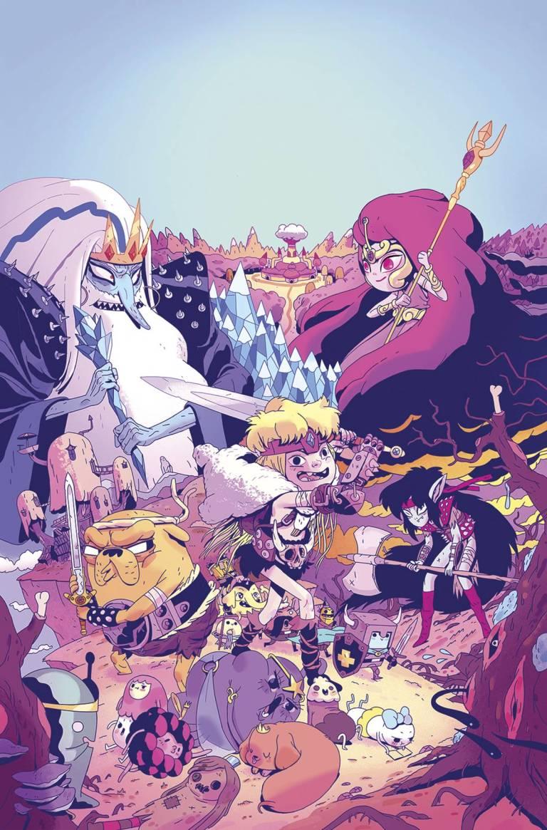 Adventure Time Comics #13 (Cover B Jorge Monlongo)
