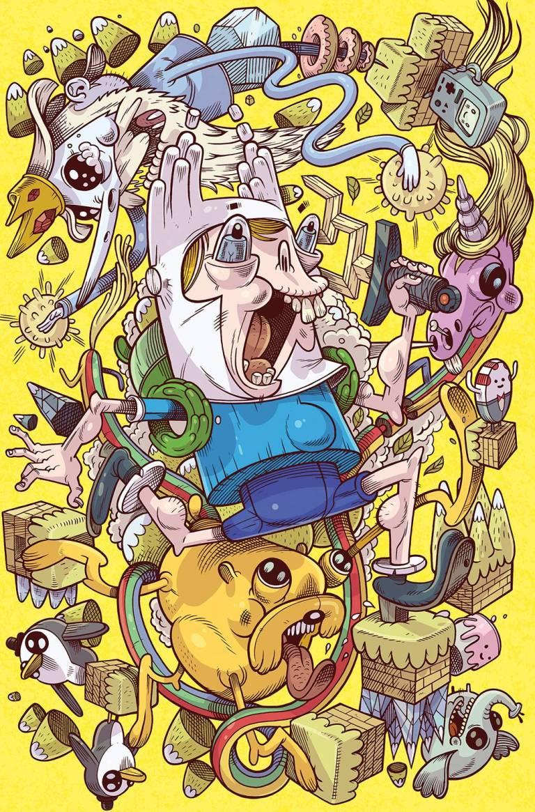 Adventure Time Comics #2 (Cover C Christian Calame)