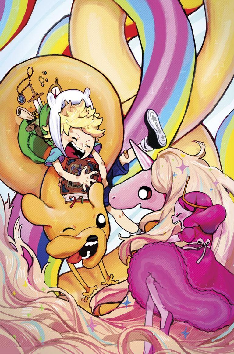 Adventure Time Comics #9 (Cover A Marie Wu)