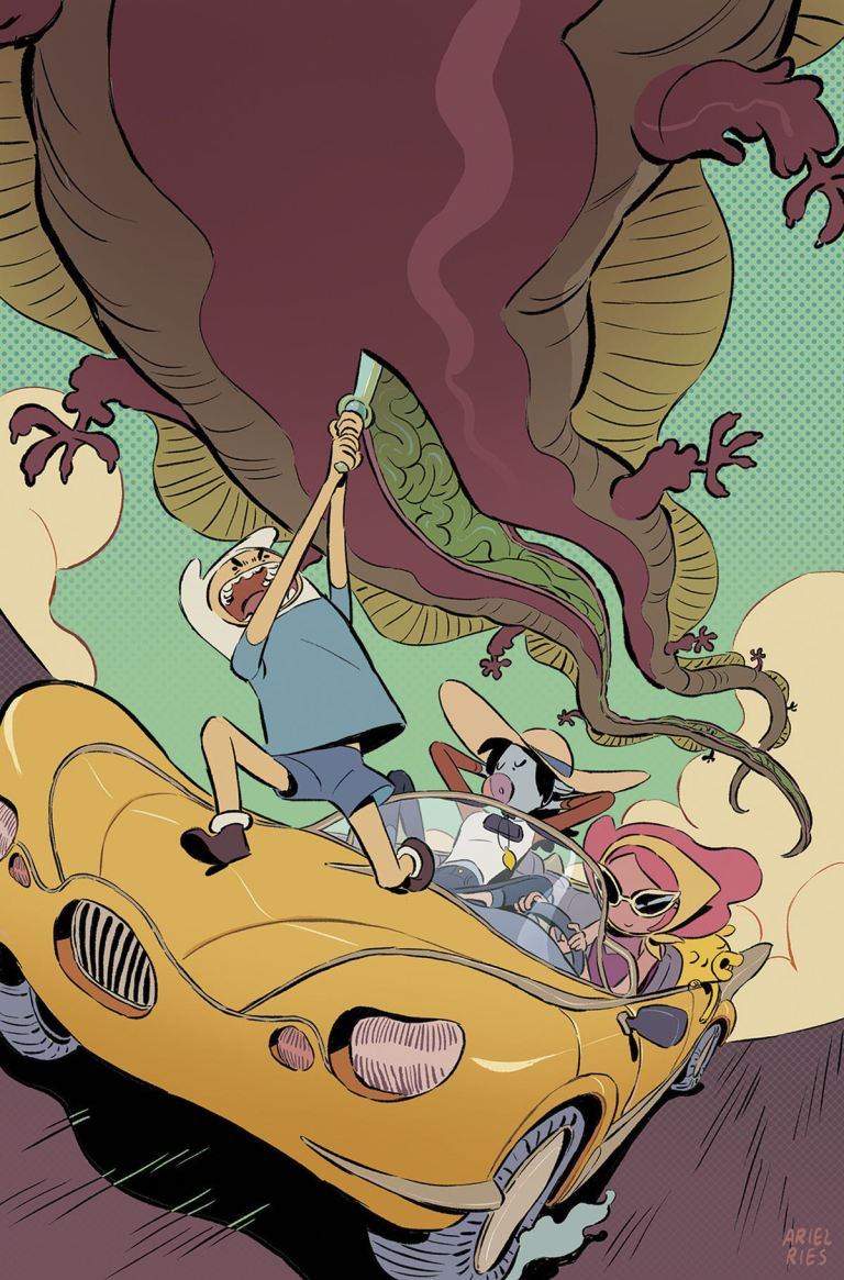 Adventure Time Comics #9 (Cover B Ariel Ries)