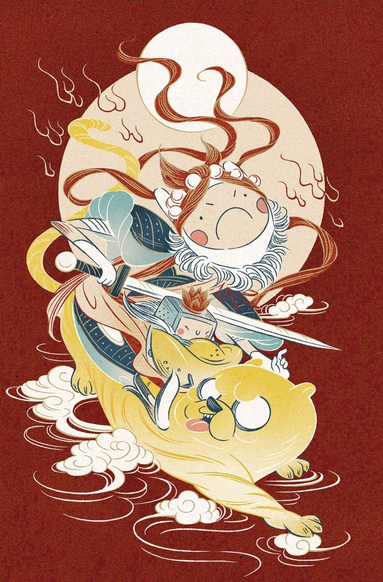 Adventure Time Comics #9 (Cover C Feifei Ruan)