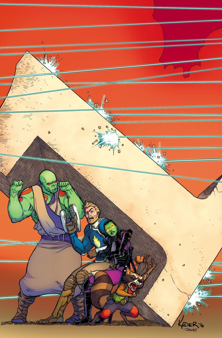 All-New Guardians Of The Galaxy #1 (Cover C Aaron Kuder)