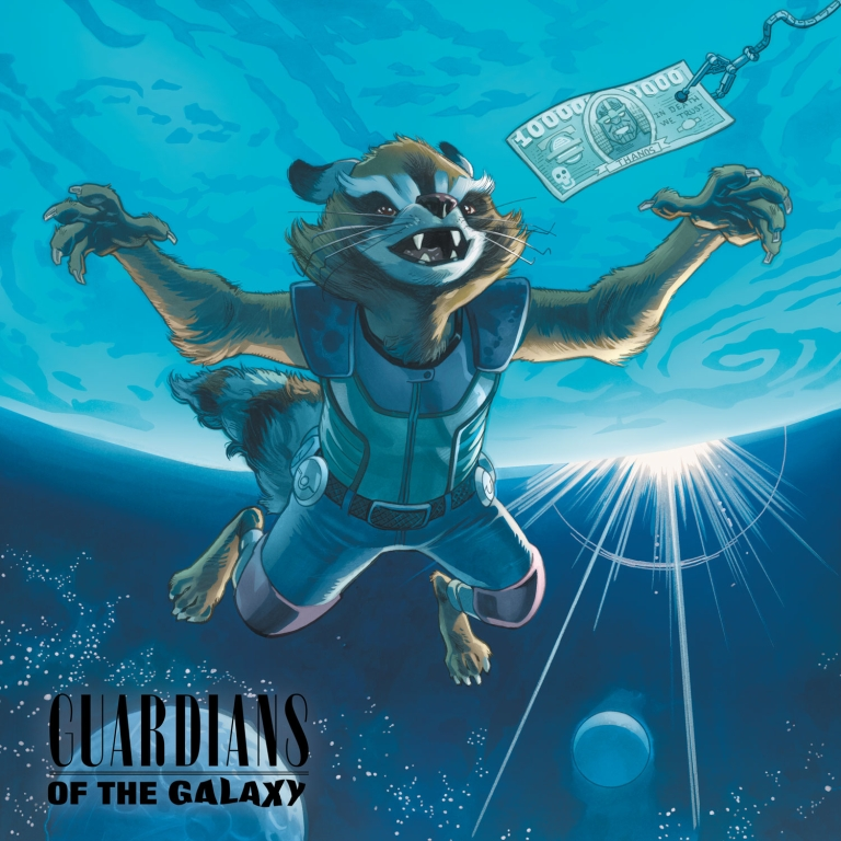 All-New Guardians Of The Galaxy #9 (Cover B Mike Hawthorne Rock-N-Roll Variant)