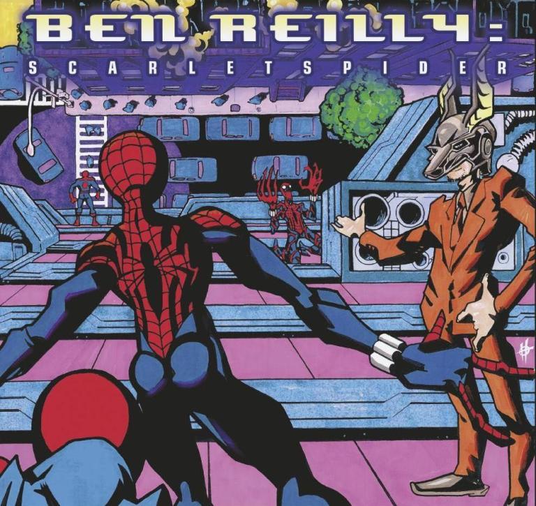 Ben Reilly Scarlet Spider #7 (Cover B Damion Scott Hip-Hop Variant)