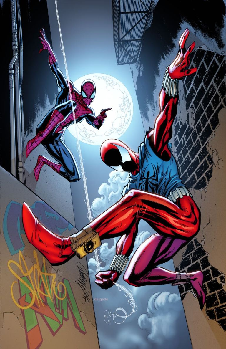 Ben Reilly The Scarlet Spider #1 (Cover D J. Scott Campbell Classic Variant)