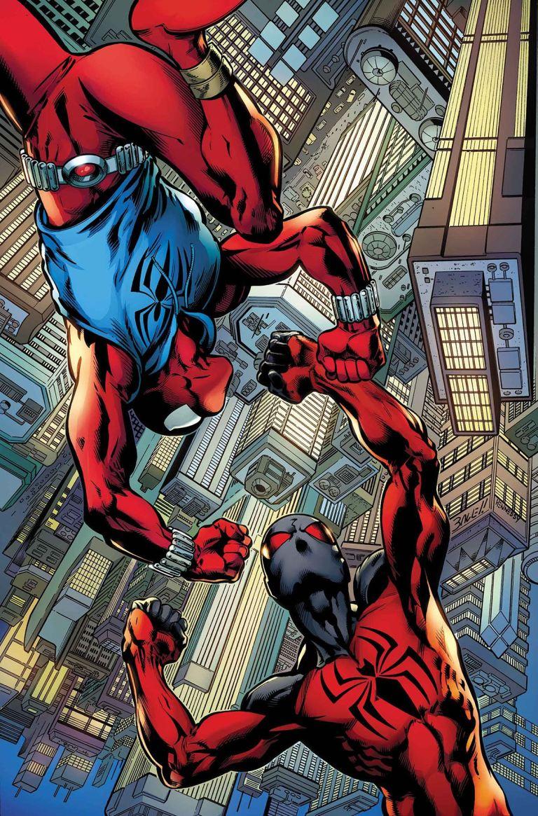 Ben Reilly The Scarlet Spider #4 (Mark Bagley Cover)