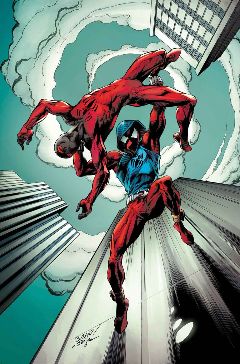 Ben Reilly The Scarlet Spider #5 (Mark Bagley Cover)