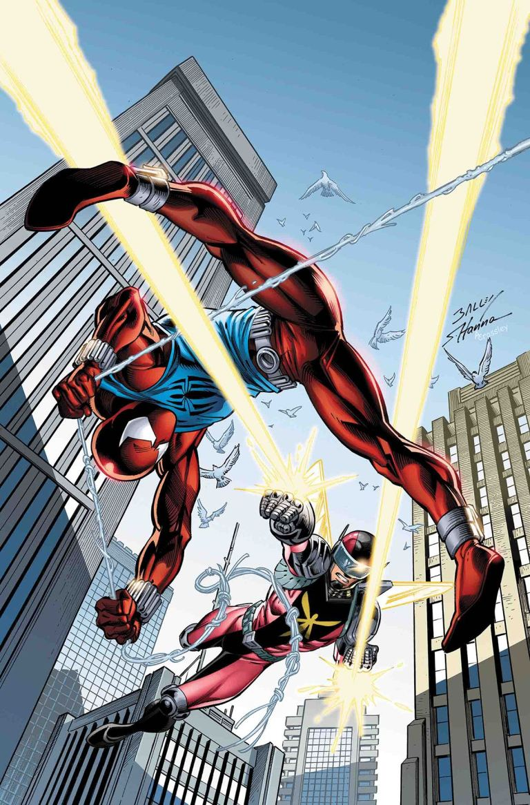 Ben Reilly The Scarlet Spider #8 (Dan Mora Cover)