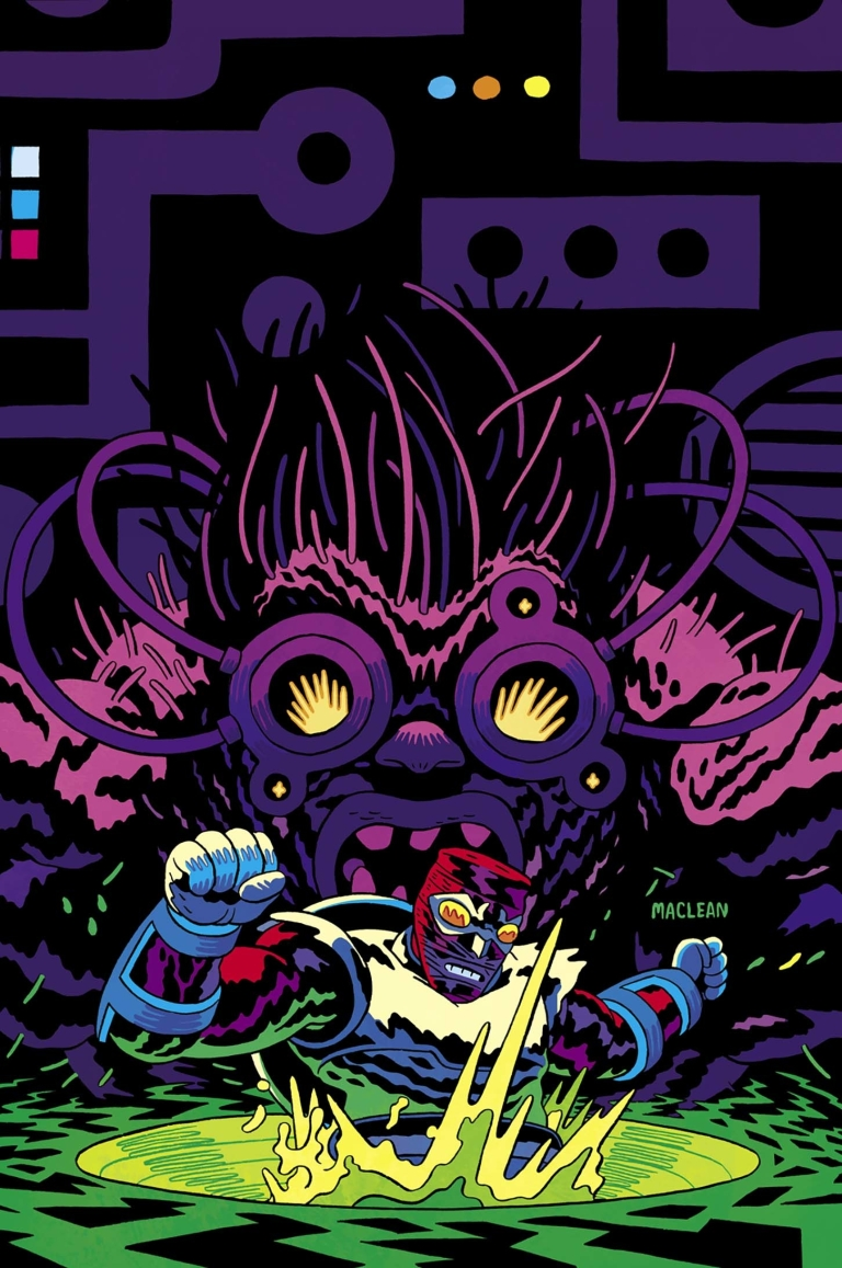 Bug The Adventures Of Forager #4 (Cover B Adam MacLean)