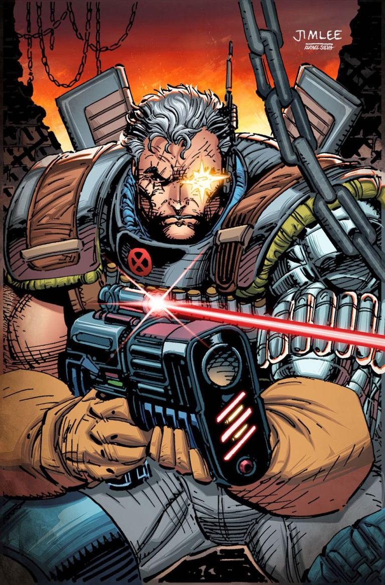 Cable #3 (Cover B Jim Lee X-Men Trading Card Variant)