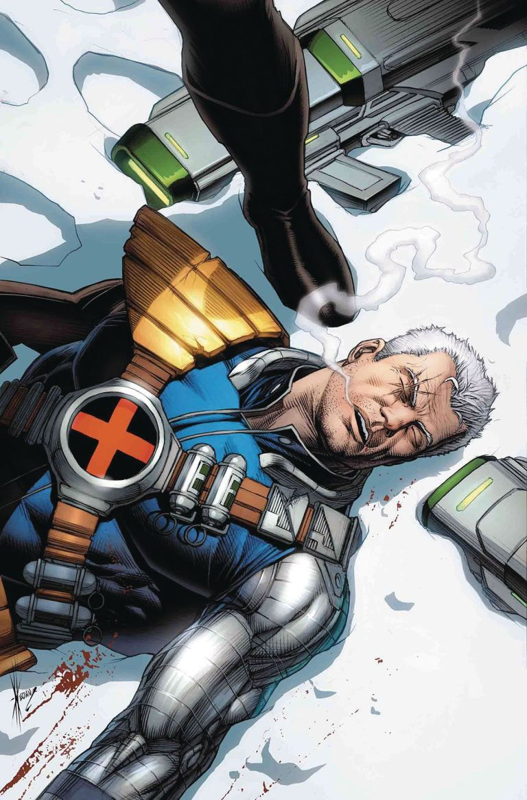 Cable #4 (Dale Keown Cover)