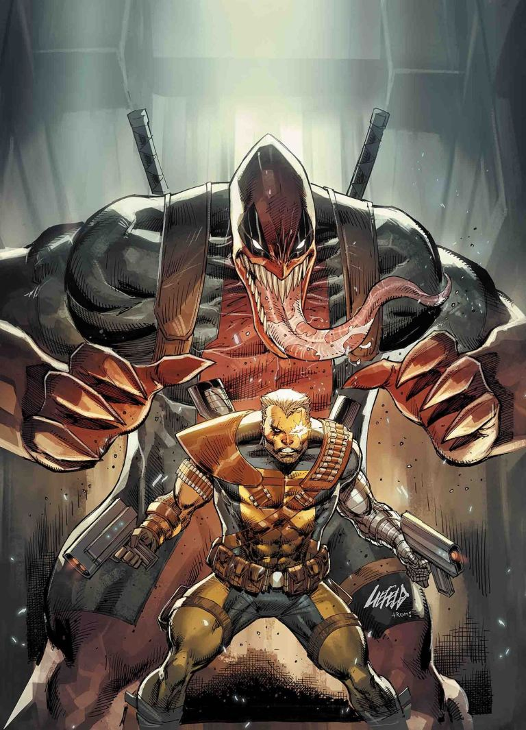 Cable #5 (Cover B Rob Liefeld Venomized Deadpool Variant)