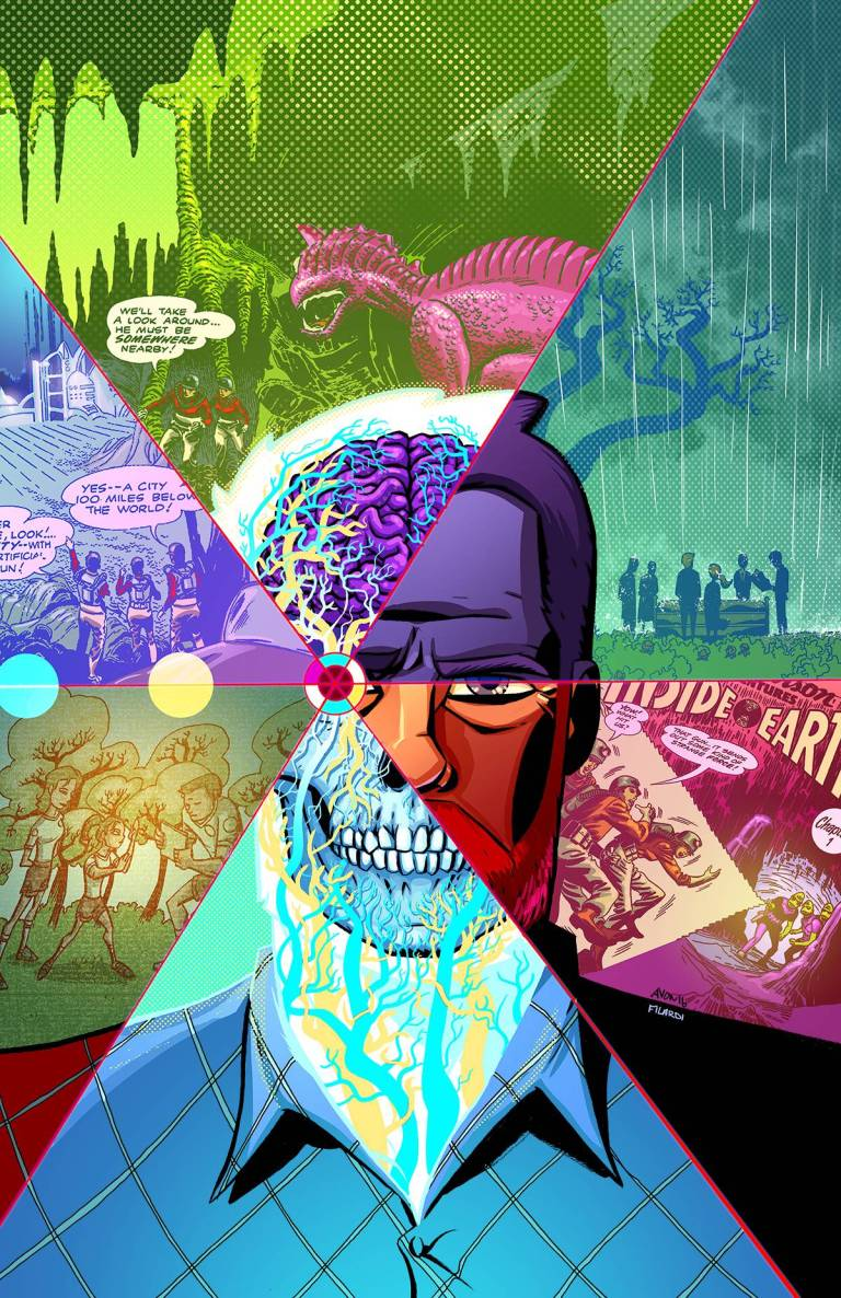 Cave Carson Has A Cybernetic Eye #1 (Cover A Michael Avon Oeming)